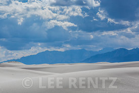 Gypsum Dunes in White Sands National Monument