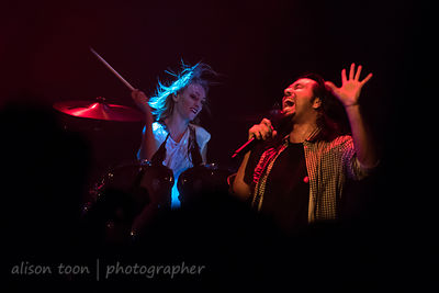 Leigh Kakaty and Hayley Cramer, Pop Evil