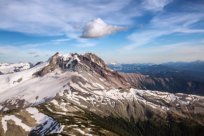 Mount Garibaldi and Glacier BC Canada