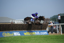 4.20pm Handicap Steeple Chase with winner Lord Lescribaa