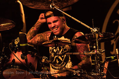 Jake Garland, drums, Memphis May Fire