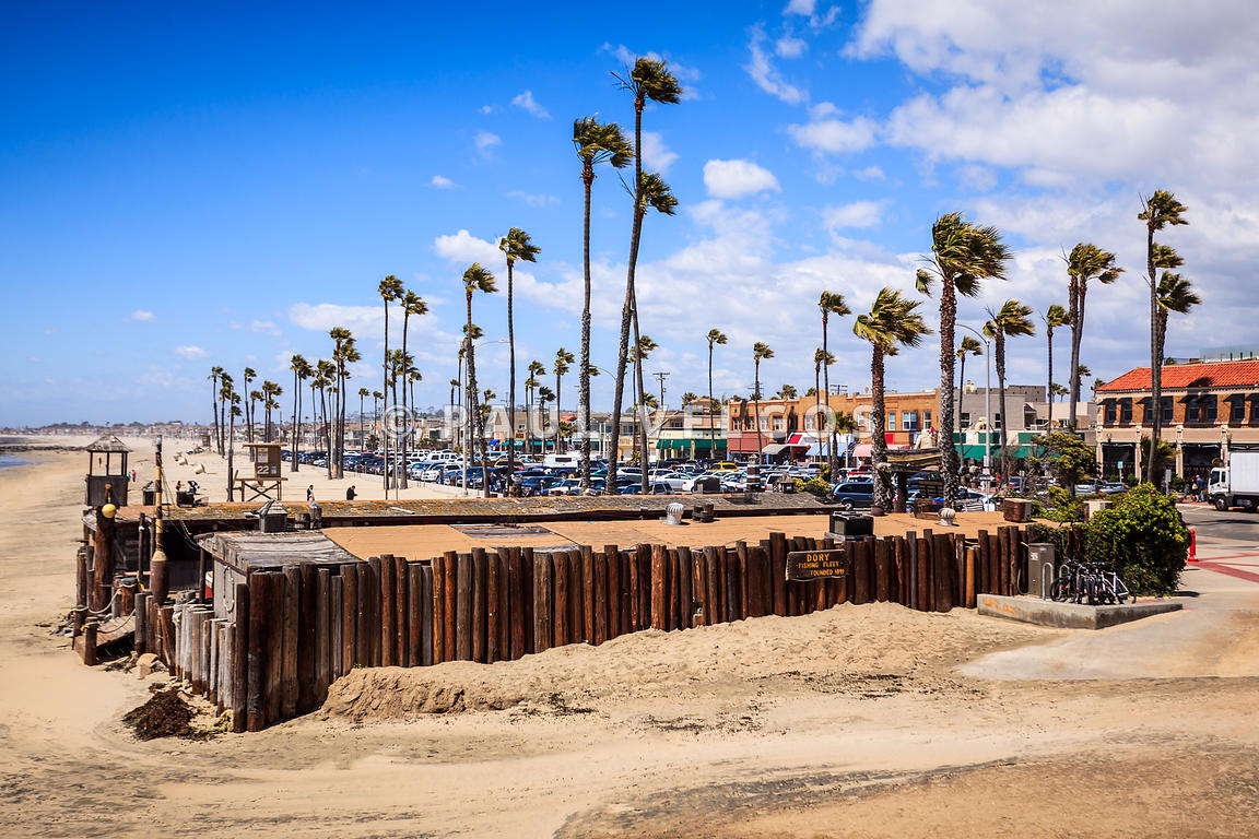 Newport Beach Dory Fishing Fleet Market
