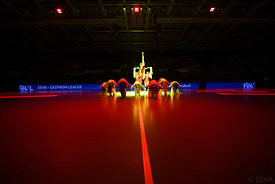 Dancers during the Final Tournament - Semi final match - PPD Zagreb vs Celje Pivovarna Lasko - Final Four - SEHA - Gazprom le...