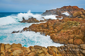 Rocky coast and surf at Canal Rocks - Australia, Australia, Western Australia, Southwest, Leeuwin Naturaliste National Park, ...