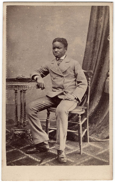 Kalulu (Ndugu M'hali) by Henry Morris albumen carte-de-visite, 1873 3 5/8 in. x 2 3/8 in. (93 mm x 60 mm) Purchased, 1996