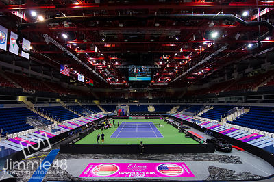 Fed Cup Final 2017, Minsk, Belarus - 10 Nov