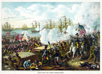 Battle of New Orleans by Kurz
