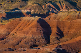 Colorful Painted Desert in Petrified Forest National Park
