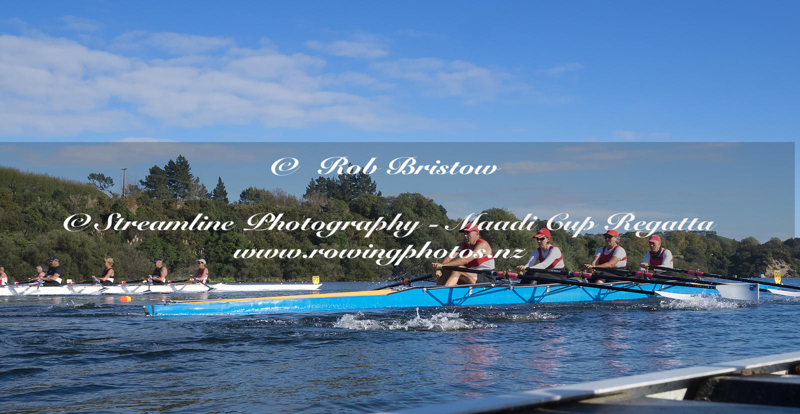 Taken during the World Masters Games - Rowing, Lake Karapiro, Cambridge, New Zealand; ©  Rob Bristow; Frame 1337 - Taken on: ...