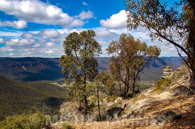 Le grand Canyon dans les Blue Mountains