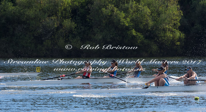 Taken during the World Masters Games - Rowing, Lake Karapiro, Cambridge, New Zealand; ©  Rob Bristow; Frame 466 - Taken on: T...