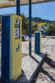 Old Richfield Gas Pumps along Lonely US 50 in Nevada