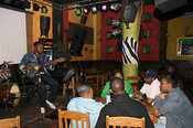 Mozambique, Maputo, Live music at the Africa bar