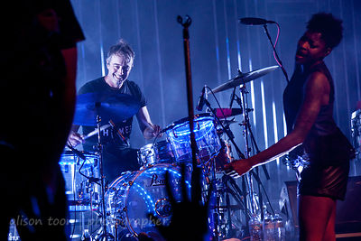 John Wicks, drums, Fitz & The Tantrums