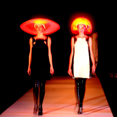 Hussein Chalayan, Fall/Winter 2007/2008 pret-a-porter collection show Paris..
