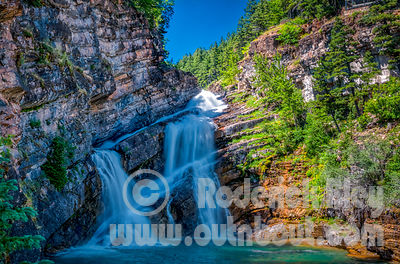 Cameron Falls, Waterton National Park