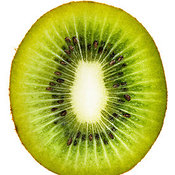 Kiwi Fruit Cross Section