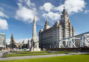 Titanic Memorial and Liver Building