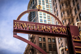 Chicago Jewelers Row Sign