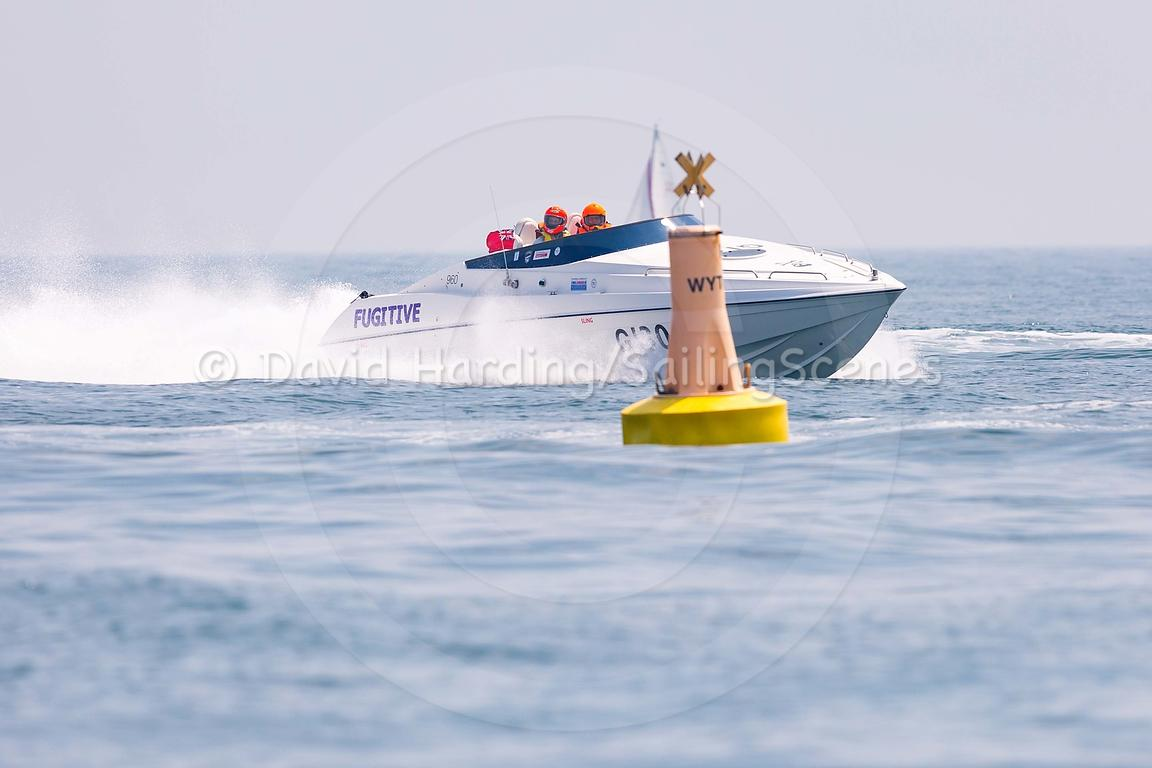Fugitive, G130, Fortitudo Poole Bay 100 Offshore Powerboat Race, June 2018, 20180610314