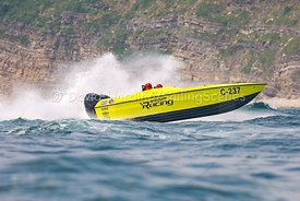 Mercury Racing, C-237, competing in the Fortitudo Poole Bay 100 Offshore Powerboat Race, 10th June 2018, 20180610089