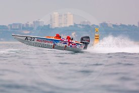 Multispark, A-22, Fortitudo Poole Bay 100 Offshore Powerboat Race, June 2018, 20180610153