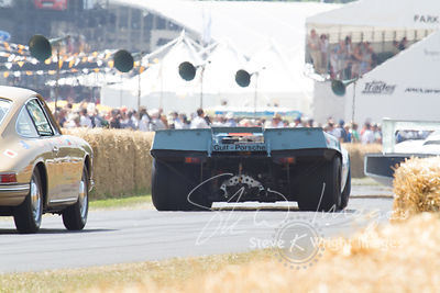 Porsche 917K (4.5-litre flat-12, 1970), Pedro Rodriguez's 1971 24 Hours of Daytona Winner - Goodwood Festival of Speed 2013