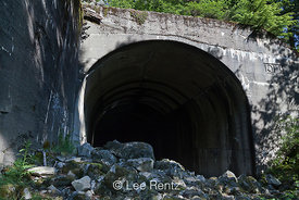 West Entrance of Windy Point Tunnel along Iron Goat Trail