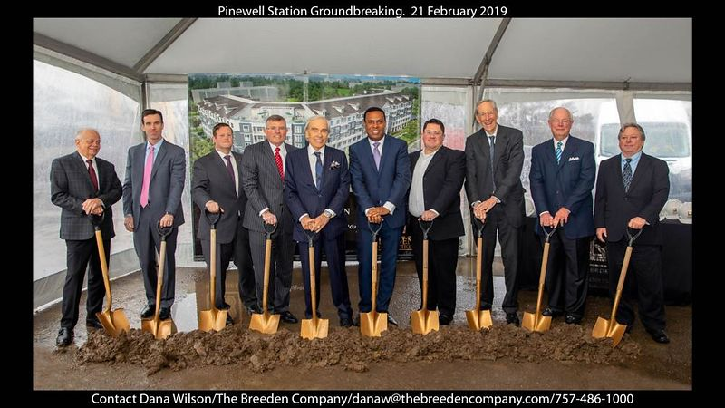 Groundbreaking Event for Pinewell Station - The Breeden Company