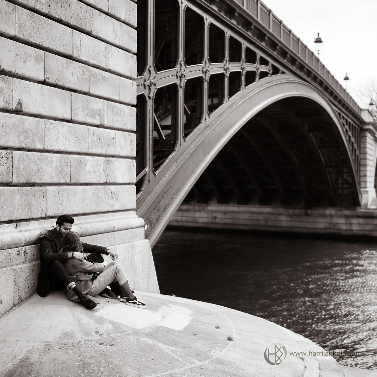 France - Paris (Pont de Sully - Couple II)