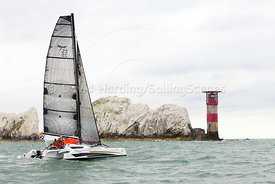 Dragonfly 25 Sport trimaran, Round the Island Race 2017, 20170701030