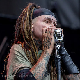 Al Jourgensen, vocals and harmonica, Ministry