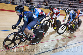 Women Keirin 1-6 Final. Milton International Challenge, Mattamy National Cycling Centre, Milton, On, October 1, 2016