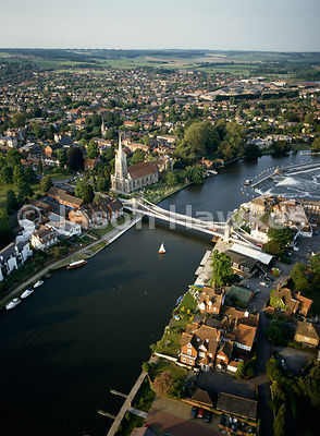 Marlow Bridge, River Thames, England