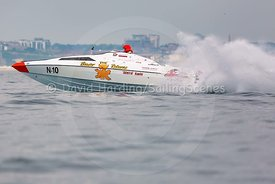 The Beaver Returns, N-10, Fortitudo Poole Bay 100 Offshore Powerboat Race, June 2018, 20180610247