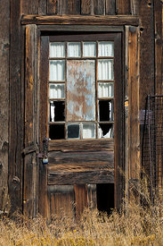 Old Door in Manhattan, Nevada