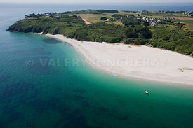 photo de la plage les grands sables, ile de Groix