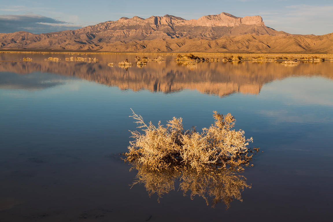 Guadalupe Mountains Reflections