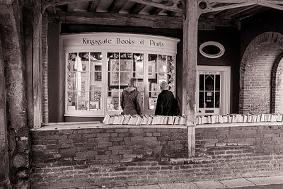 Bookshop | Winchester | October 2014