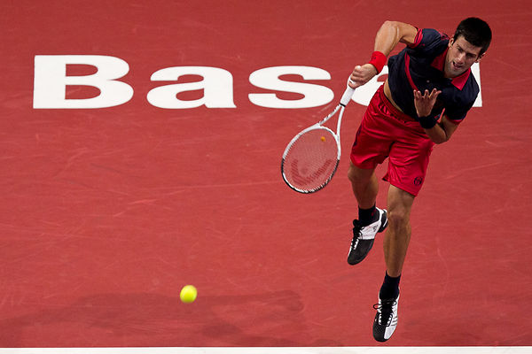 Basel: Switzerland Tennis Swiss Indoors