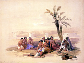 Abyssinian slaves in Nubia