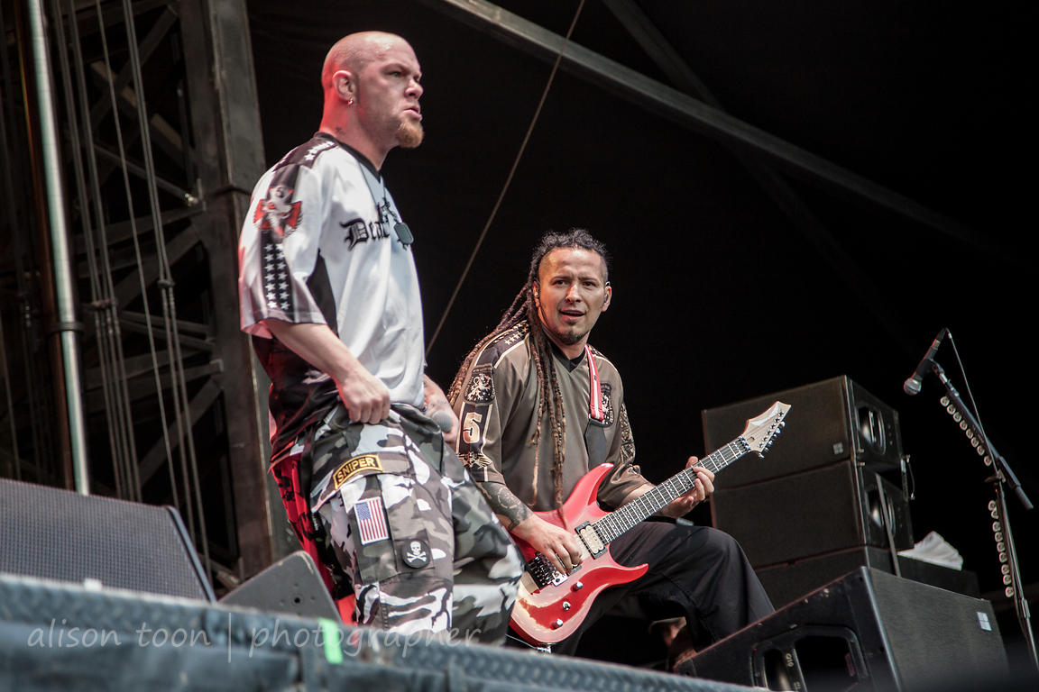 Five Finger Death Punch, Aftershock 2014