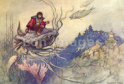 Jellyfish Takes a Journey by Warwick Goble