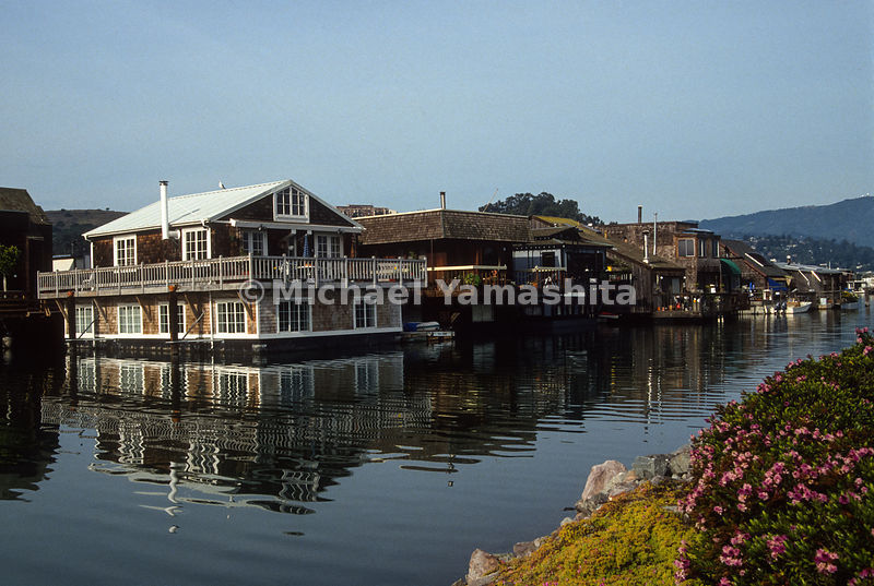 Houseboats.Sausalito, California