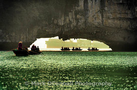 Caves in Halong Bay Vietnam