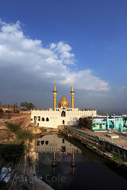The beautiful mosque near Taragarh fort, Ajmer, Rajasthan, India