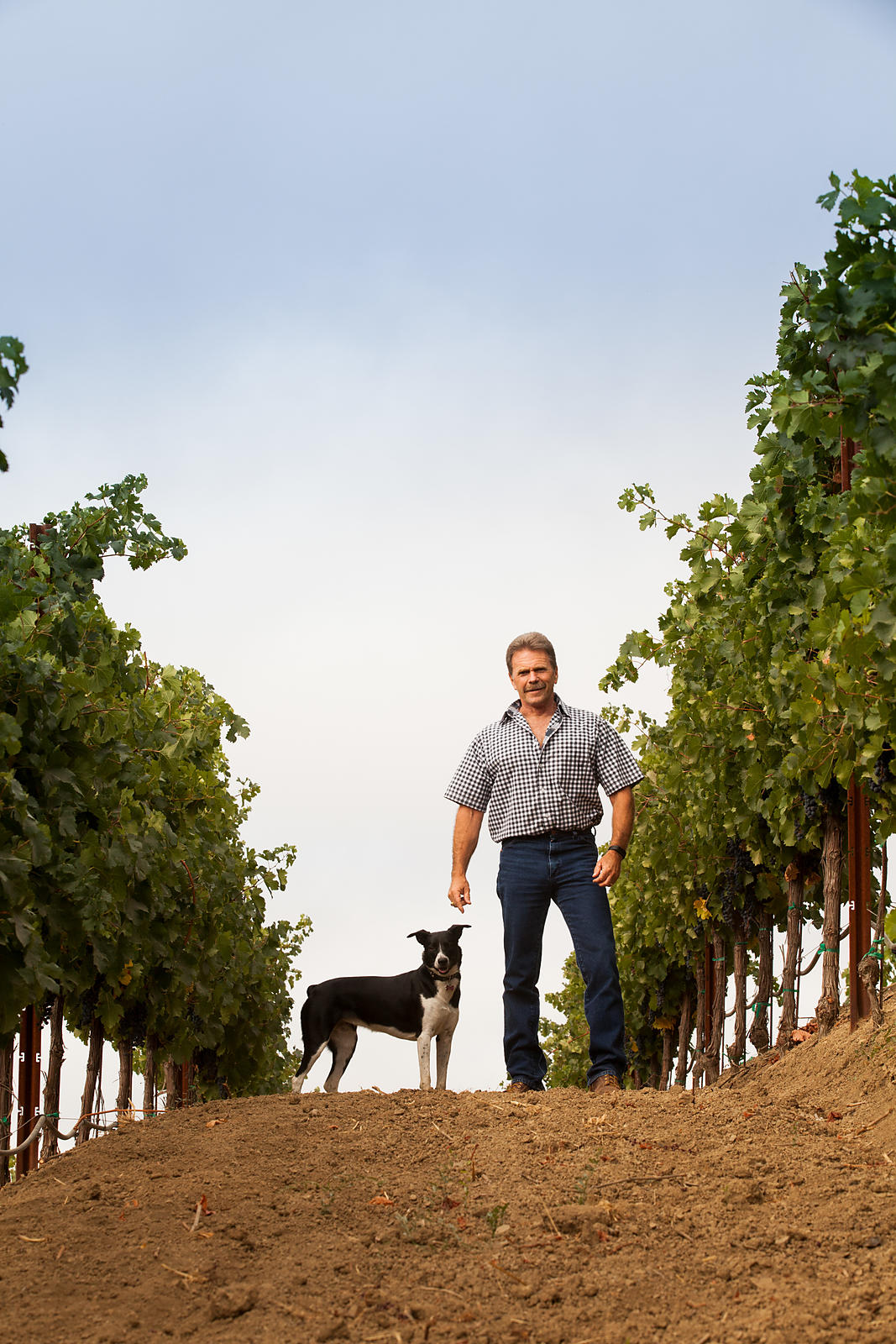 Environmental portrait in Healdsburg, California by Jason Tinacci