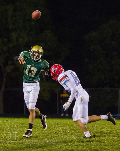 Iowa City West vs Dubuque Senior Football, Sept 21, 2012