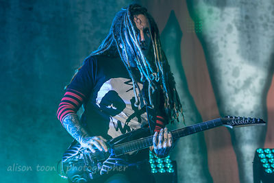 Brian Head Welch, guitar, Korn