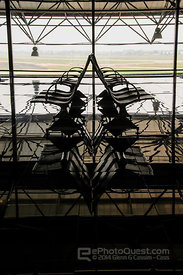 Chairs in Hanoi Airport